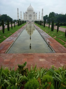 Reflexions sur le Taj