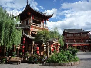 Place des roues a aubes de Lijiang