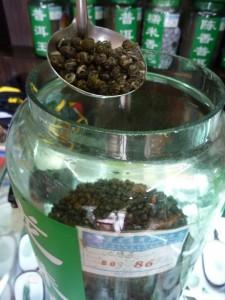 The du Yunnan (tout) premier choix (Pu'er) : 12eur les 100g