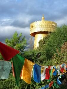 Le plus grand moulin a prieres du monde (soi-disant)