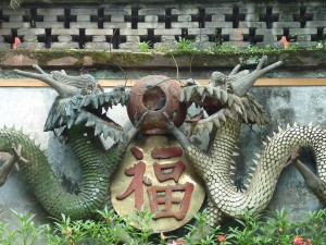 Gardiens d'un temple de Chengdu