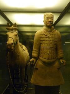 Un des guerriers enterres de Xian