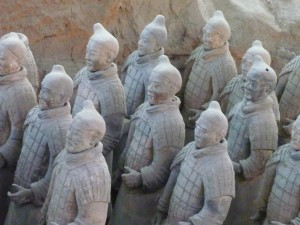 L'impressionnante armee enterree de Xian