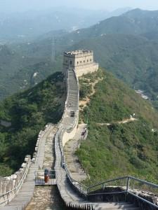 La grande muraille, debut de notre rando