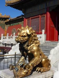 Un des gardiens du palais de l'empereur