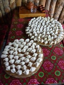 Tonnes de dumplings, miaaaam