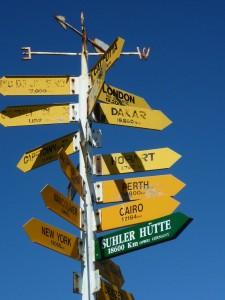 Prochaines destinations ?