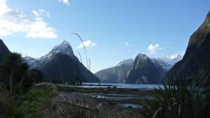 Fin de journee sur Milford Sound